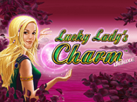 Lucky Lady's Charm на зеркале