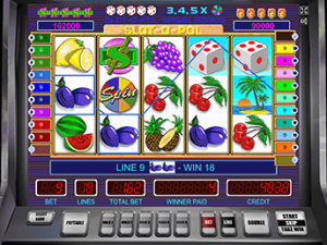 Slot-O-Pol Deluxe на зеркале