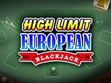 High Limit European Black Jack